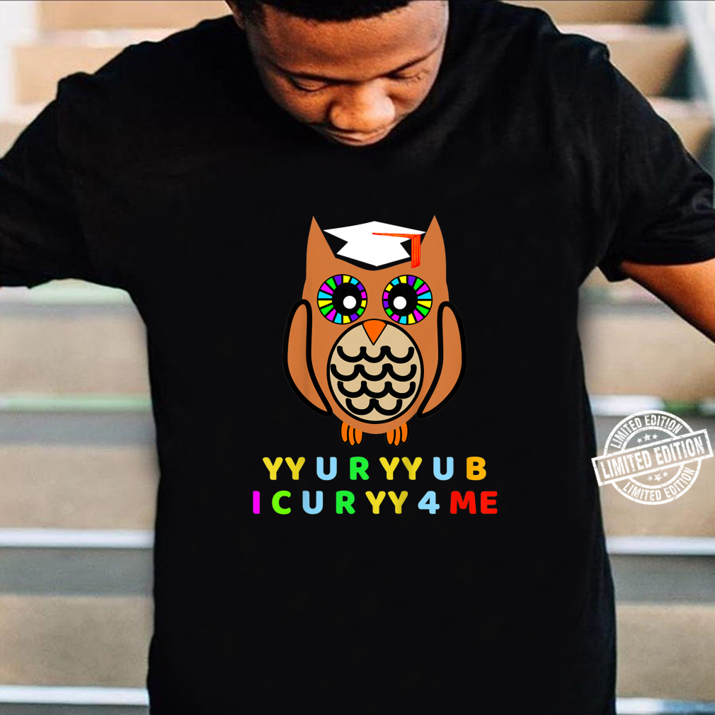 Kids Wise Owl, Novelty Owl With Hat, Too Wise Cryptic Message Shirt